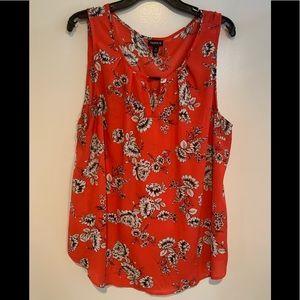 Torrid Size 2 floral blouse